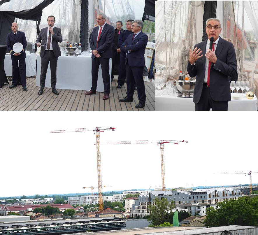 Annonce du lancement de la Foncière de la CEAPC – 17 mai 2019 à bord du Belem